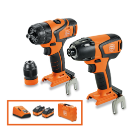 FEIN Brushless Twin Pack 18 V combi drill + impact driver